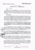 Resolución de la Oficina General de Administración y Finanzas N° 096-2016-MML/IMPL/OGAF