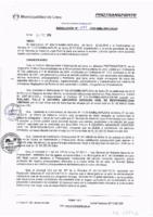Resolución de la Oficina General de Administración y Finanzas N° 097-2016-MML/IMPL/OGAF