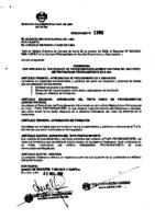 Ordenanza 1306 – Aprueba el Texto único de procedimientos administrativos -TUPA – 2009