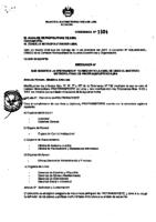 Ordenanza Nº 1324 – Modifica la ordenanza Nº 732 y Nº 1103 – 2009