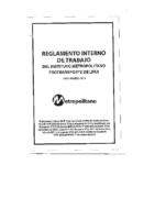 Reglamento Interno de Trabajo (RIT) – 2013