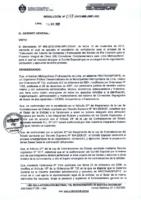 Resolución N° 078-2012-MMLIMPLGG – DESIGNAR a los integrantes del COMITÉ ESPECIAL que se encargará de conducir el proceso de selección de Concurso Público N° 04-2012-MMLIMPLCE