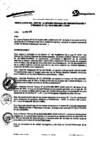 Resolución de la Oficina General de Administración y Finanzas N° 005-2015-MML/IMPL/OGAF