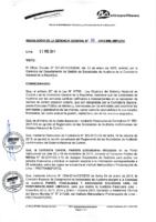 Resolución de Gerencia General N° 010-2015-MML/IMPL/GG