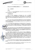 Resolución de Gerencia General N° 011-2015-MML/IMPL/GG