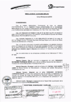 Resolución de Presidencia Ejecutiva N° 012-2015-MML/IMPL/PE