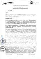 Resolución de Gerencia General N° 014-2015-MML/IMPL/GG