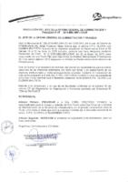 Resolución de la Oficina General de Administración y Finanzas N° 016-2015-MML/IMPL/OGAF