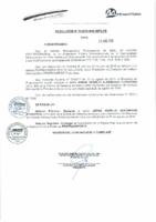Resolución de Presidencia Ejecutiva N° 019-2015-MML/IPML/PE