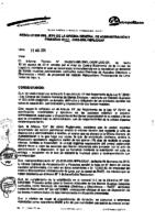 Resolución de la Oficina General de Administración y Finanzas N° 022-2015-MML/IMPL/OGAF