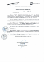 Resolución de Presidencia Ejecutiva N° 022-2015-MML/IPML/PE