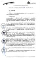 Resolución de Gerencia General N° 023-2015-MML/IMPL/GG