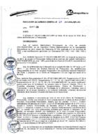 Resolución de Gerencia General N° 024-2015-MML/IMPL/GG