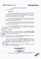 Resolución de Presidencia Ejecutiva N° 026-2015-MML/IPML/PE