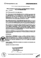 Resolución de la Oficina General de Administración y Finanzas N° 029-2015-MML/IMPL/OGAF
