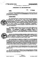 Resolución de la Oficina General de Administración y Finanzas N° 033-2015-MML/IMPL/OGAF