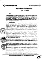Resolución de la Oficina General de Administración y Finanzas N° 040-2015-MML/IMPL/OGAF