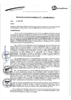 Resolución de Gerencia General N° 041-2015-MML/IMPL/GG