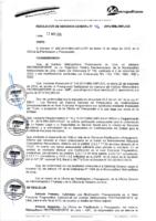 Resolución de Gerencia General N° 046-2015-MML/IMPL/GG