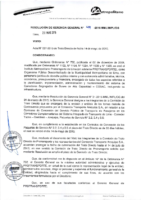 Resolución de Gerencia General N° 049-2015-MML/IMPL/GG