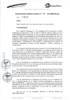 Resolución de Gerencia General N° 050-2015-MML/IMPL/GG