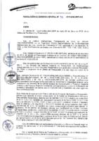 Resolución de Gerencia General N° 052-2015-MML/IMPL/GG