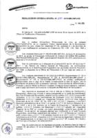 Resolución de Gerencia General N° 070-2015-MML/IPML/GG