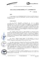 Resolución de Gerencia General N° 071-2015-MML/IPML/GG