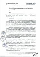 Resolución de Gerencia General N° 077-2015-MML/IPML/GG