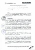 Resolución de Gerencia General N° 078-2015-MML/IPML/GG
