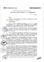 Resolución de Gerencia General N° 079-2015-MML/IPML/GG