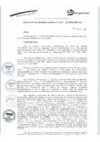 Resolución de Gerencia General N° 081-2015-MML/IPML/GG