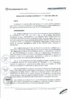 Resolución de Gerencia General N° 085-2015-MML/IPML/GG
