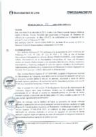 Resolución de Gerencia General N° 094-2015-MML/IPML/GG