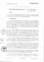 Resolución de Gerencia General N° 096-2015-MML/IPML/GG