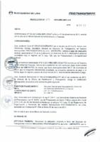 Resolución de Gerencia General N° 097-2015-MML/IPML/GG