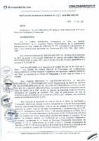 Resolución de Gerencia General N° 099-2015-MML/IPML/GG