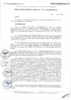 Resolución de Gerencia General N° 100-2015-MML/IMPL/GG