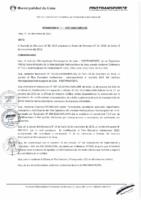 Resolución de Gerencia General N° 111-2015-MML/IMPL/GG