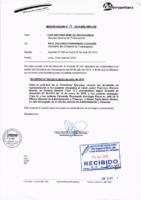 Memorandum N° 18-2015-MML/IMPL/SD