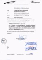 Memorandum N° 20-2015-MML/IMPL/SD