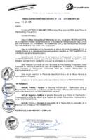 Resolución de Gerencia General Nº058-2015/MML/IMPL/GG
