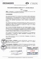005-2019-OPP Lineamientos para la Elaboración del Informe de Rendición de Cuentas del Titular en el Instituto Metropolitano Protransporte de Lima