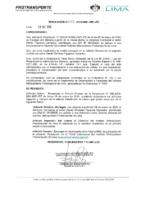 Resolución de Presidencia Ejecutiva N° 012-2019-MML-IMPL/PE