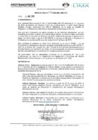 Resolución de Presidencia Ejecutiva N° 022-2019-MML-IMPL/PE