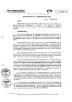 Resolución de la Oficina General de Administración y Finanzas N° 024-2019-MML/IMPL/OGAF