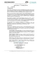 Resolución de Presidencia Ejecutiva N° 025-2019-MML-IMPL/PE