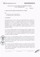 Resolución de la Oficina General de Administración y Finanzas N° 001-2018-MML/IMPL/OGAF