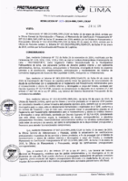 Resolución de la Oficina General de Administración y Finanzas N° 003-2019-MML/IMPL/OGAF