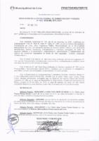 Resolución de la Oficina General de Administración y Finanzas N° 004-2018-MML/IMPL/OGAF